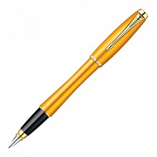 Ручка перьевая PARKER IM Premium Historical colors Mandarin Yellow F синий 0,8мм 1892540/F205